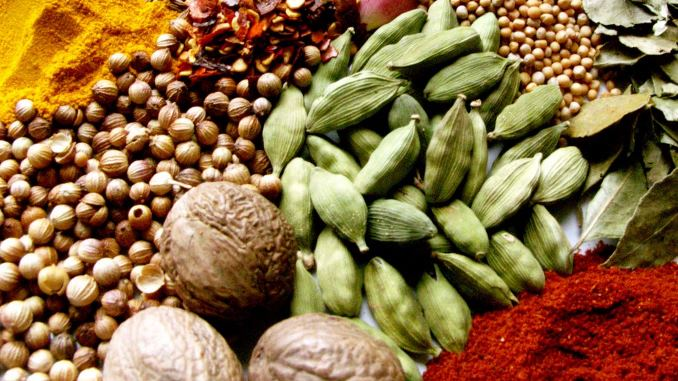 list of spices and herbs for cooking