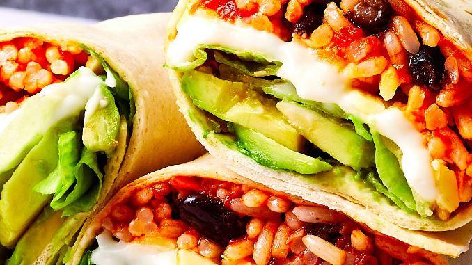 tortilla vs burrito
