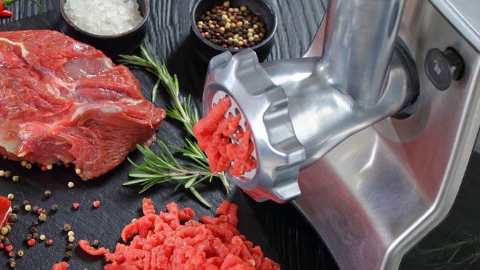 can a meat grinder grind bones