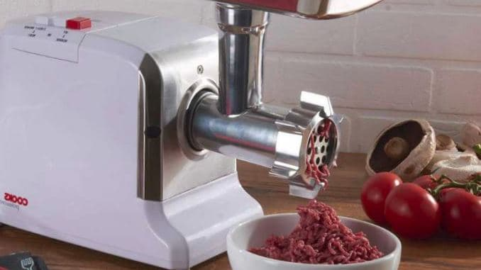 what do the numbers mean on a meat grinder
